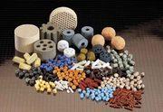 Промышленные б/у нейтрализаторы (катализаторы) в гранулах.