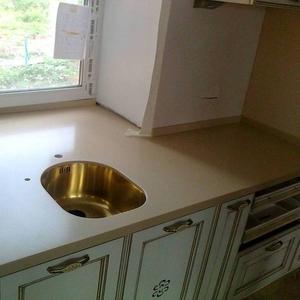 Альфа-мебель(Самара) изготавливает на заказ кухонные столешницы из иск
