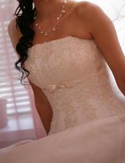 Продам свадебное платье! Состояние нового