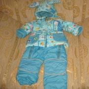 Продаю зимний комплект (куртка/комбинезон),